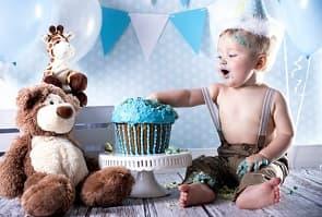 Babys erste Party