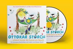 Foto: Ottokar Storch - das Maskottchen von best for family hat ein eigenes Hörbuch