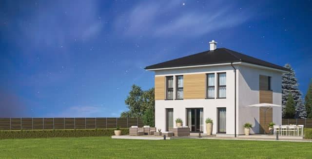 Vita: Ein Eigenheim schon ab unter 100.000 Euro  - das Vita 116 von Haas macht es möglich.