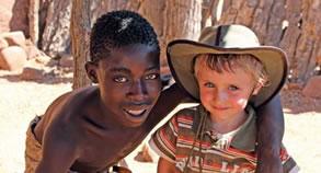 Foto: Mit Kindern die Welt entdecken - auf nach Namibia!