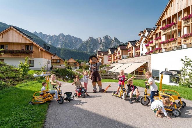 Ein Königreich für Familien am Fuße des sagenhaften Dachsteins