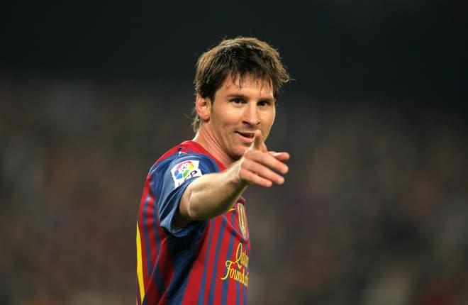 Foto: 2:3 für Messi und Antonella