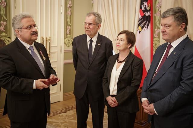 Global 2000-Projektleiter erhält Auszeichnung für Tschernobyl-Hilfe