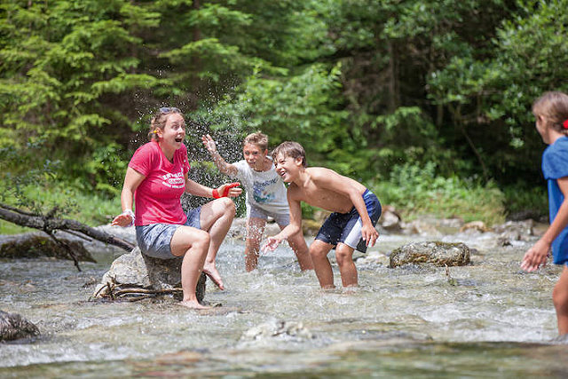Kinder und Jugendliche gut betreut - auch in den Ferien