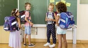 Foto: Schulranzen oder Schulrucksack?                    Vor- und Nachteile!