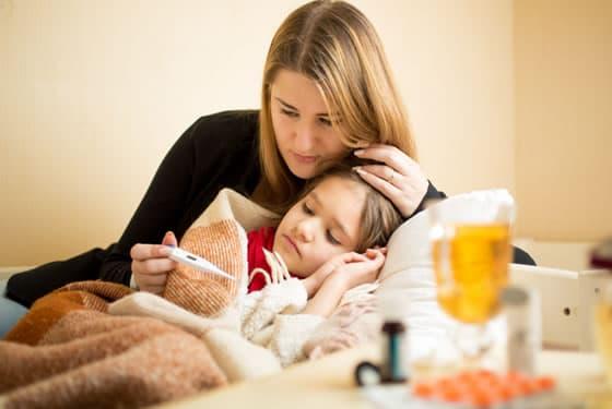 Röteln – vor allem Kinder erkranken