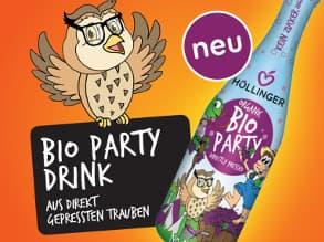 Foto: Bio Partydrink für Kinder ohne Zuckerzusatz