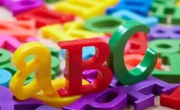 Stolpern beim Lesen und Buchstabensalat