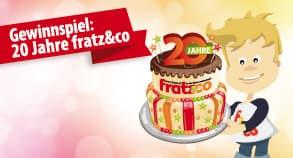 Gewinnspiel: 20 Jahre fratz&co