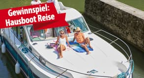 Gewinnspiel: Gewinnen Sie einen Hausboot-Urlaub in Frankreich!