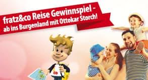 Gewinnspiel: Reise Gewinnspiel – ab ins Burgenland mit Ottokar Storch!