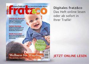 fratz&co Familienmagazin - Ausgabe Oktober 2018