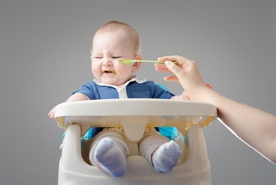 Wenn bei der Babyernährung Essprobleme auftreten