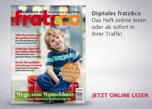 fratz&co Familienmagazin - Ausgabe April 2019