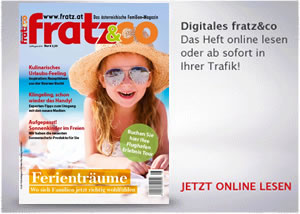 fratz&co Familienmagazin - Ausgabe Juli/August 2019