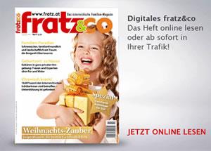 fratz&co Familienmagazin - Ausgabe Dezember 2018
