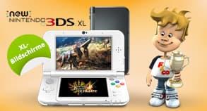 Gewinnspiel: Nintendo 3DS XL Gewinnspiel