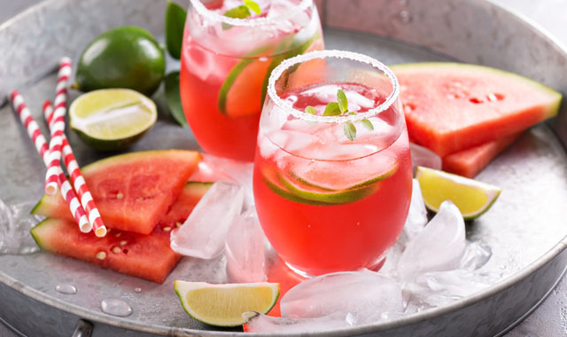 Melonen-Kinder-Bowle