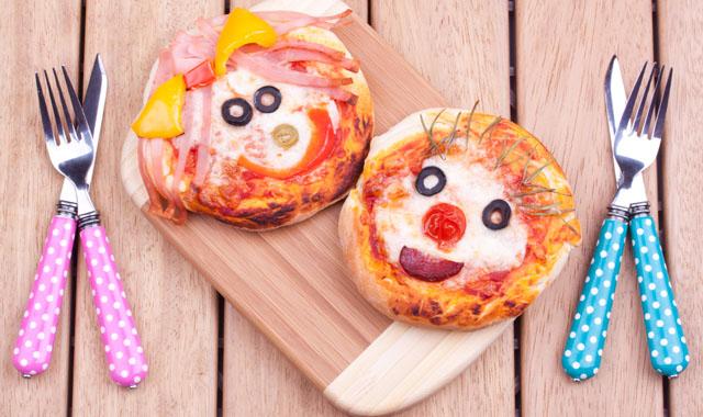 Pizzagesichter