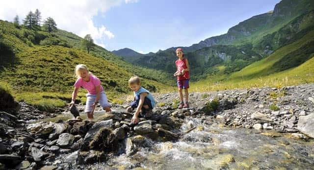 Mama, Papa – wir wollen mit Almliesl in die Berge!
