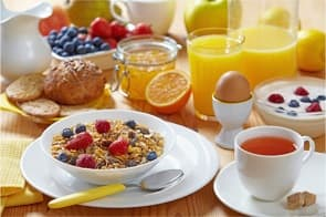 Frühstück mit Power