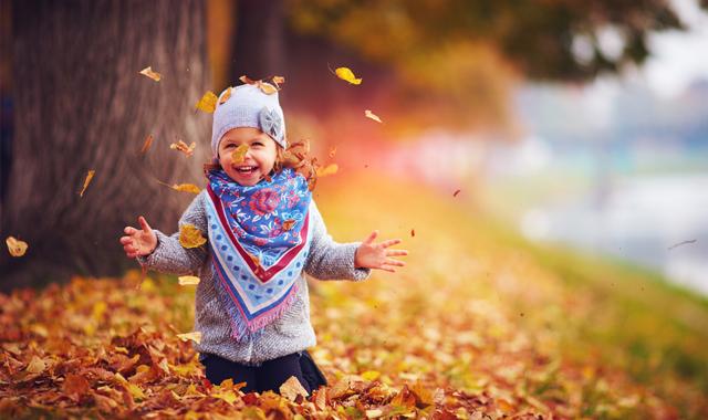 Schöne Spielideen für den Herbst