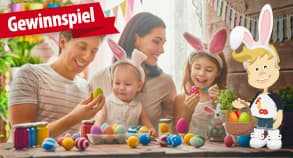 Gewinnspiel: Familien-Ostern-Gewinnspiel