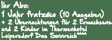 Thermenhotel Loipersdorf Abo_Ueberschrift