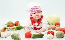 Foto: Vegetarische Ernährung für Babys